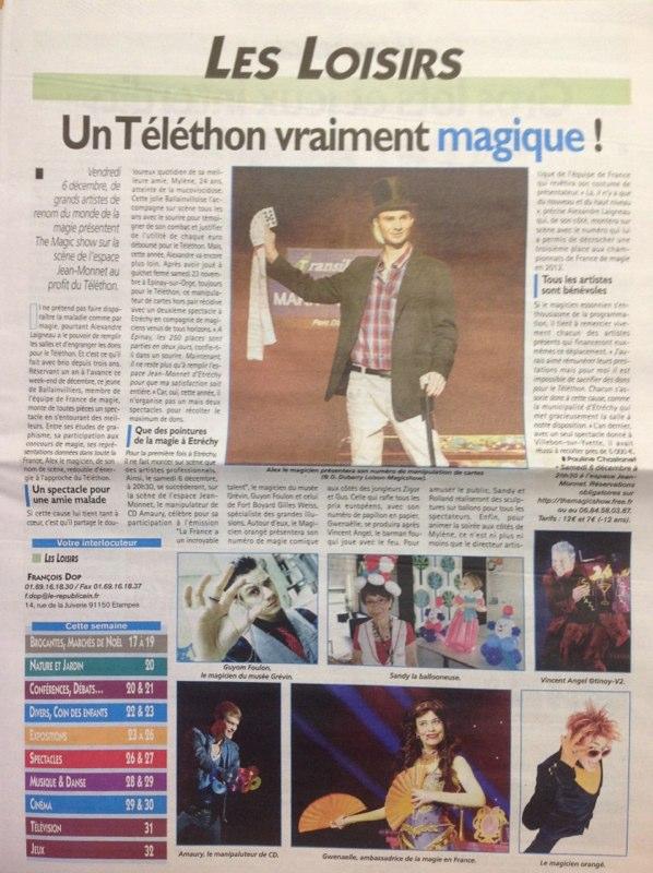 Le Républicain Téléthon 2013