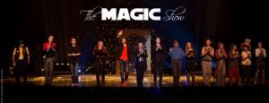 final du spectacle the magic show