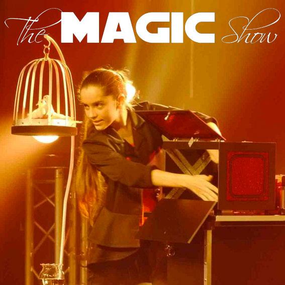 Laure nourrie magicienne