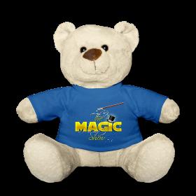 ours en peluche magique magicien magic show